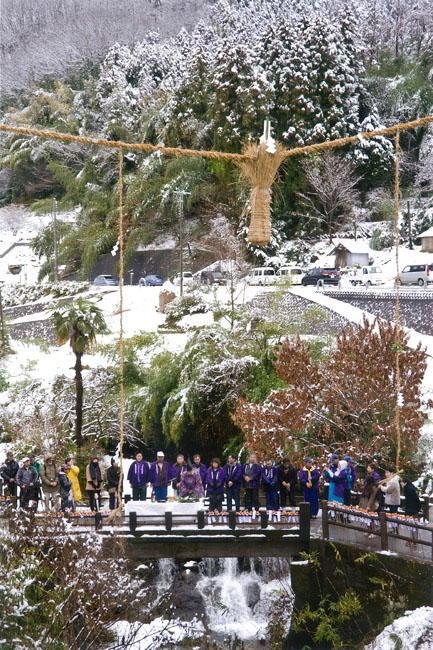 宮田哲治様 「雪中の神事」