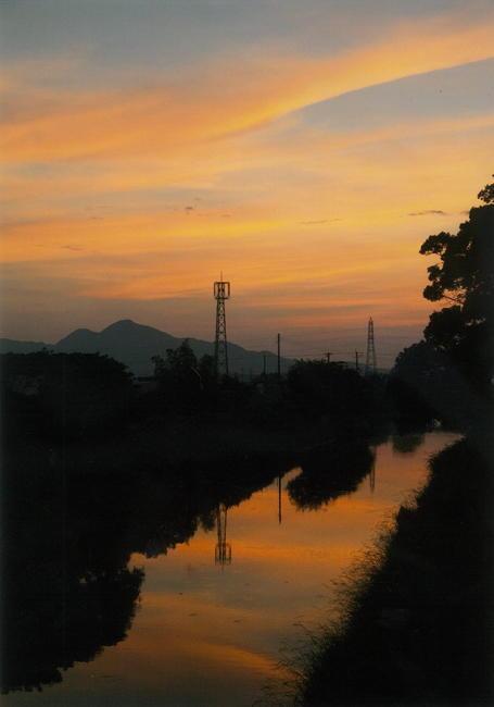 長倉國輝様 「飛鳥川と二上山」