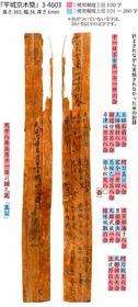 古代の木簡でよく使われた漢字